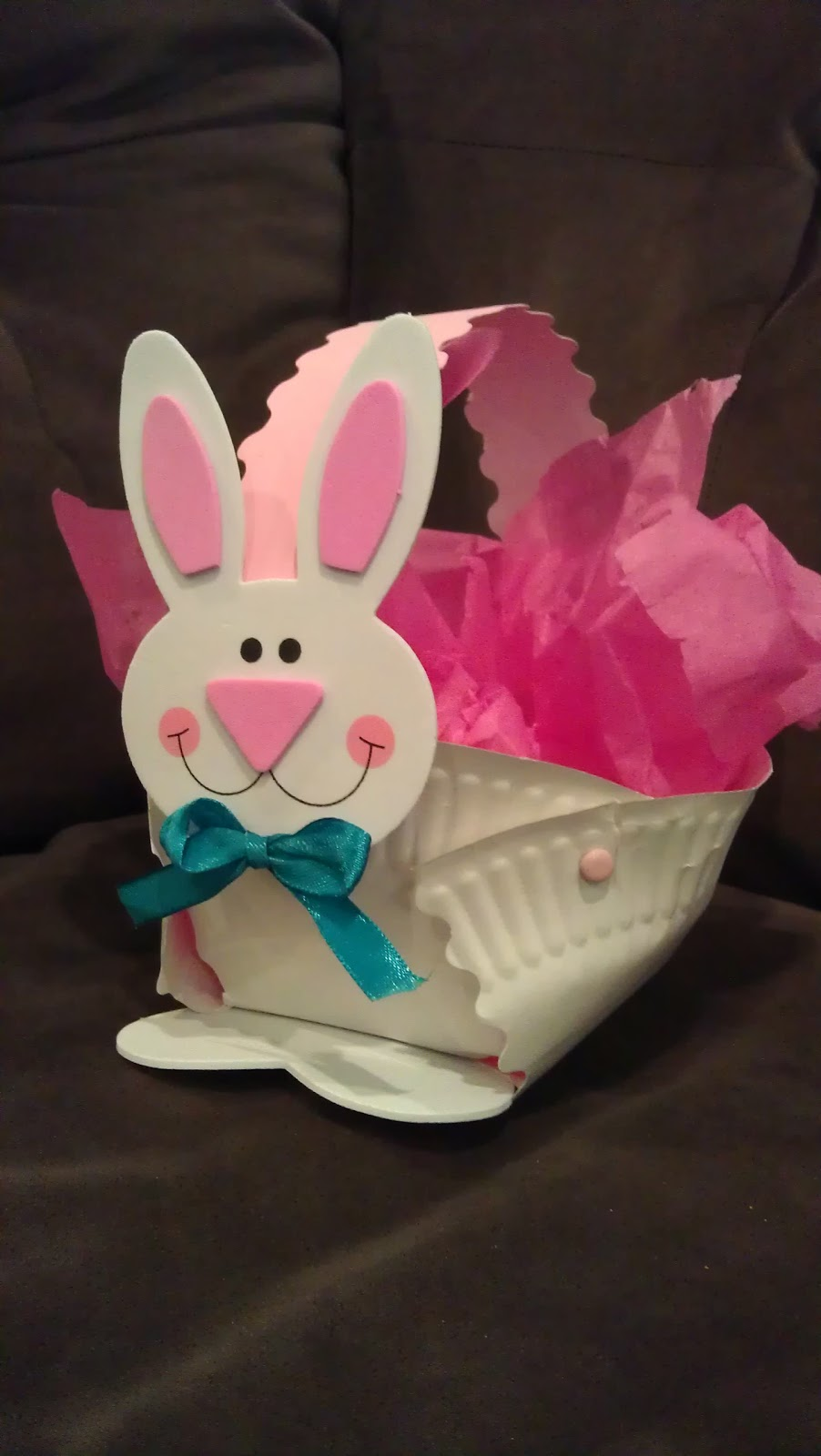 The everyday life of a mother teacher and wife bunny chick bunny chick easter basket craft negle Images