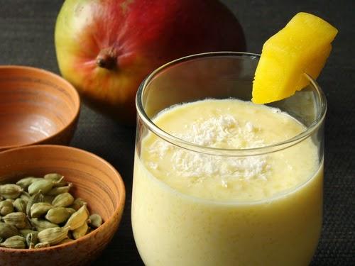 lassi mangga,minuman mangga,jus mangga,jus buah,resep