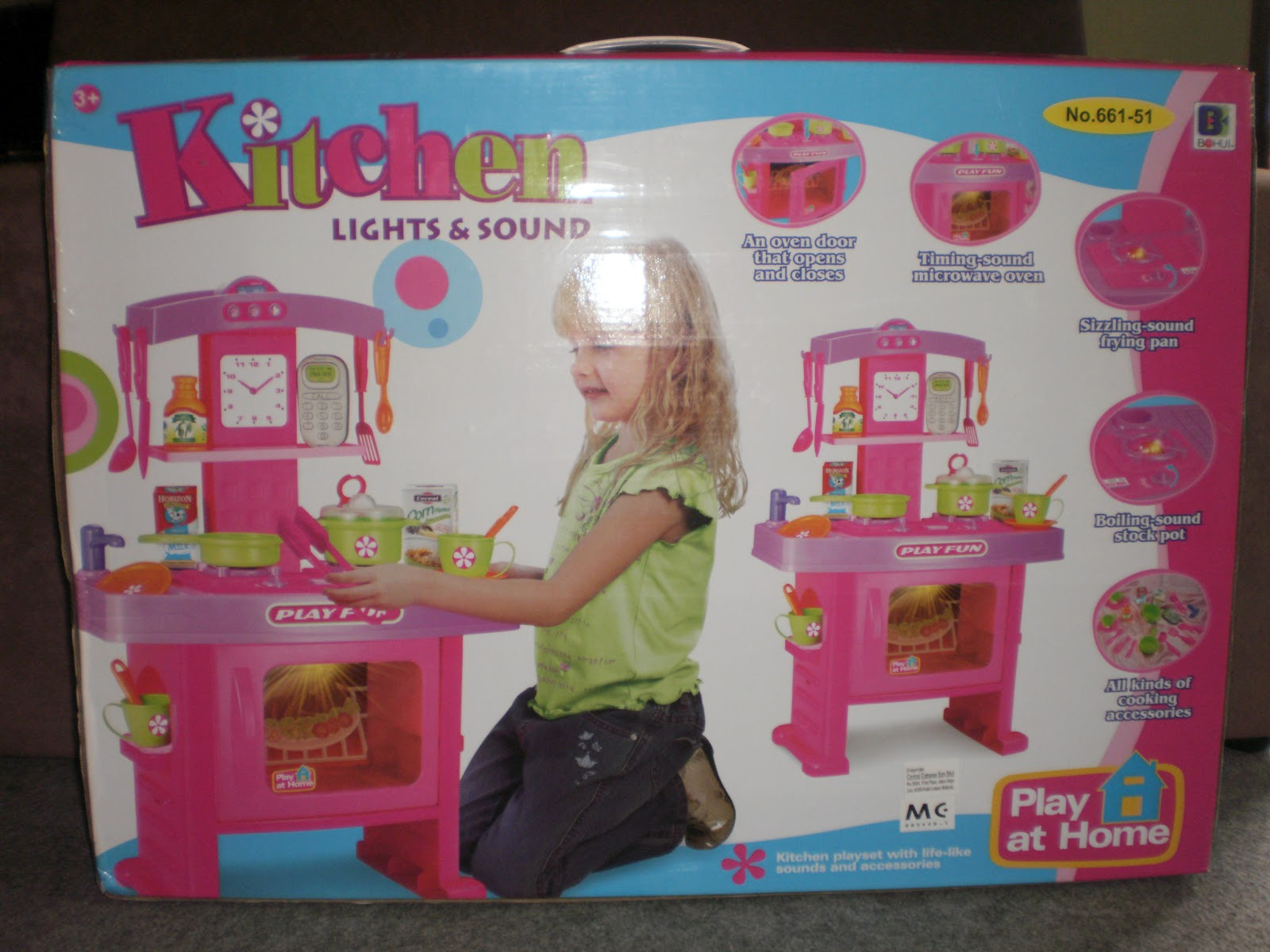 Play At Home Kitchen Lights Sound