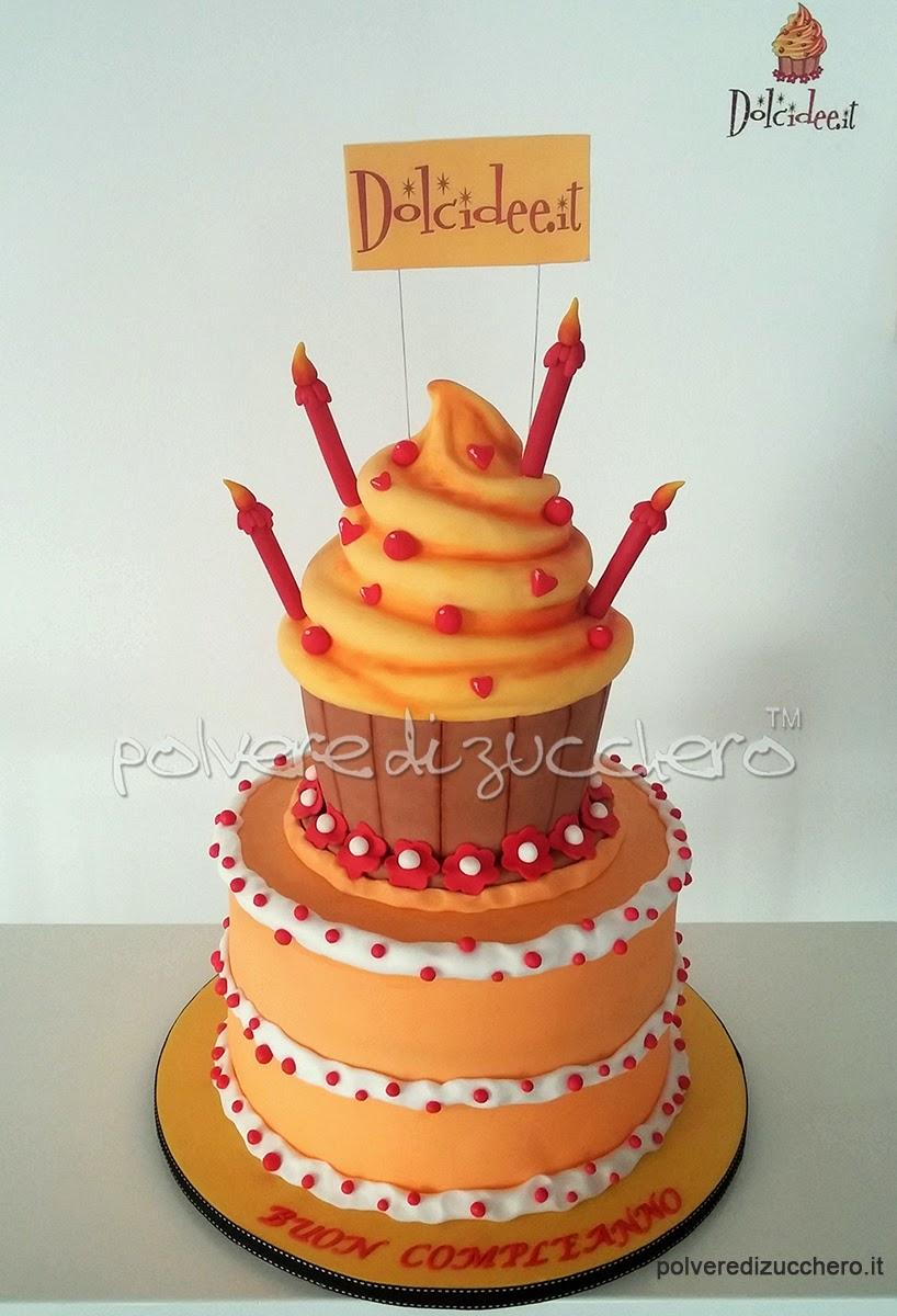 un compleanno speciale, l'evento e la torta per il 4° compleanno di dolcidee.it (cameo e paneangeli)