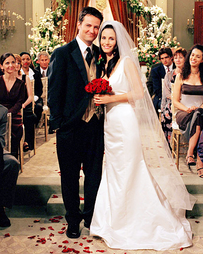 WhimsyBride :::: Look-A-Likes for Less: Monica Gellar Wedding gown