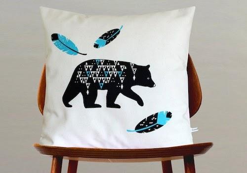 Handmade designer cushion | Objets de Désir