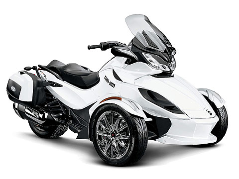 2013 Can-Am Spyder ST Limited Motorcycle Photos, 480x360 pixels