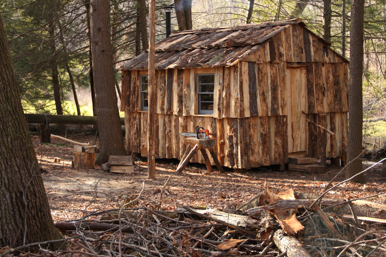 Bradley 39 s blog link to 10 39 x 10 39 ontario cabin built for Building a house on a slab