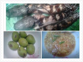 ikan keli afrika, omega 3, kerabu mangga, sedap, resepi baru, masakan kampung, Malaysia, Asian food, ikan bakar, menu sihat, ternakan keli, ikan air tawar, usahawan keli