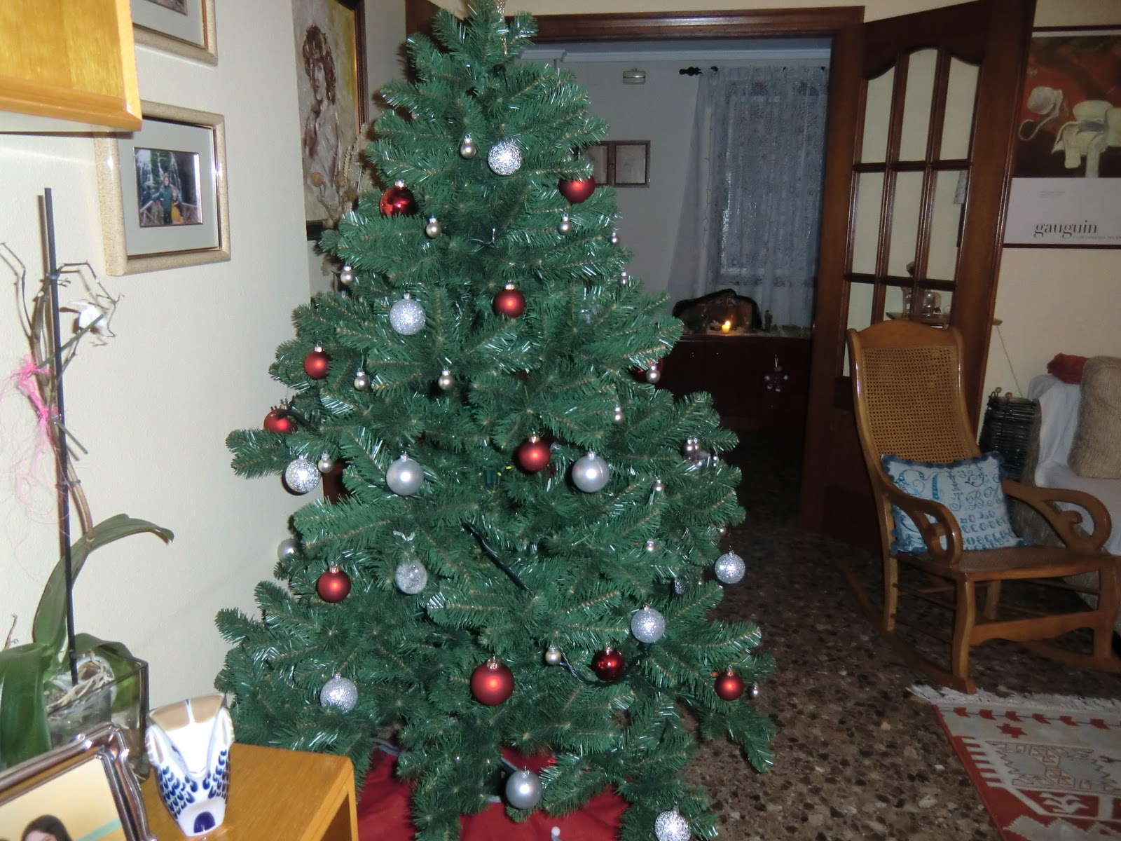 Tatumany la navidad en casa - Arbol de navidad en casa ...