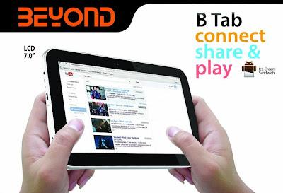 Spesifikasi dan harga tablet Beyond b tab