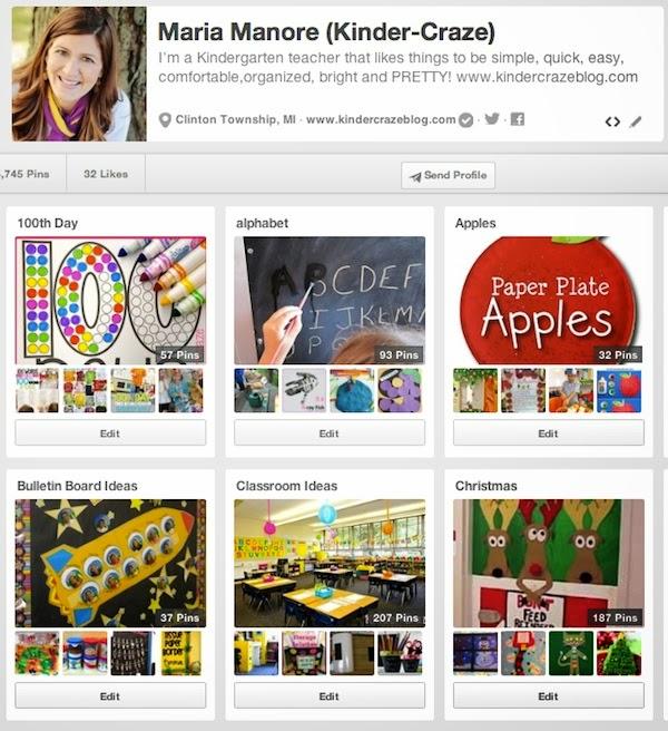 follow Kinder-Craze on Pinterest