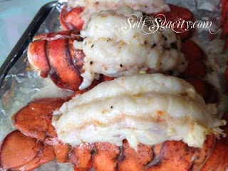 baked lobster tail