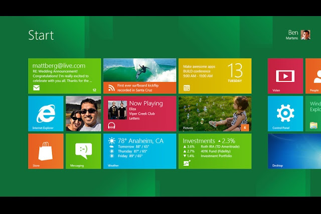 Windows 8 Developer Preview now available to download!