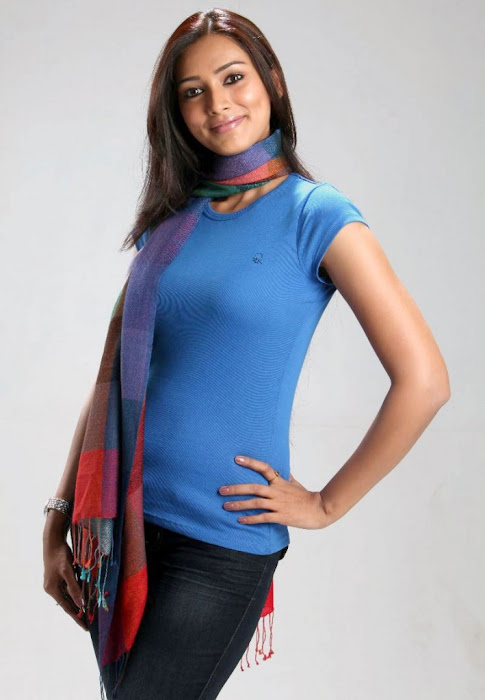 Pallavi Subhash in Blue Dress  Cool Photos