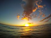 An epic sunset from big beach