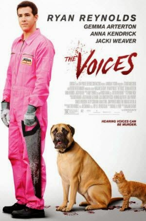 The Voices: Theatrical Poster