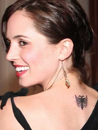 Eliza Dushku Tattoos Designs| Eliza Dushku Tattoos Idea