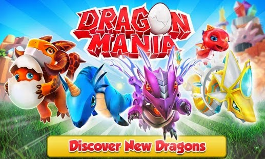Android Games Dragon Mania Offline Asik - 1