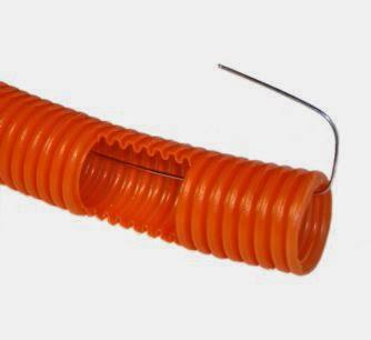Instalaciones el ctricas residenciales 6 tipos de gu as - Tubo corrugado rojo ...
