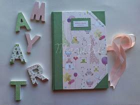 Diario de bebé para niña