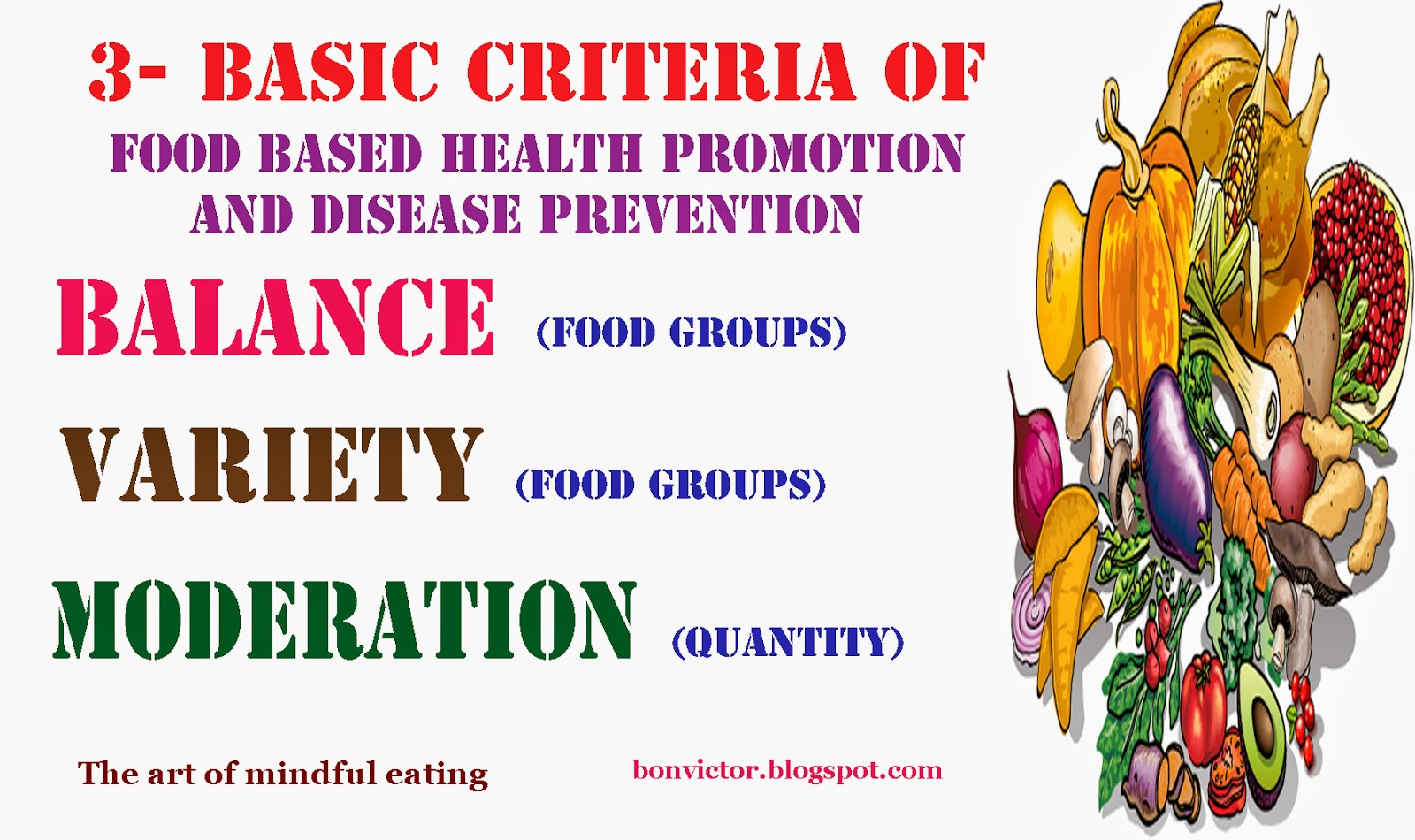 healthy choices food and drink guidelines