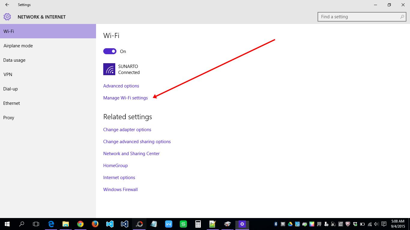Merubah Password Wifi Pada Windows 10 Sunarto S Kom
