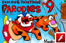 Parodias de Pinturas Famosas 9