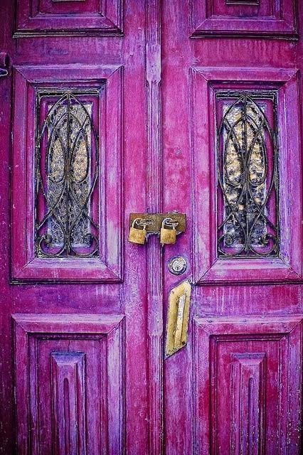 puerta fuxia