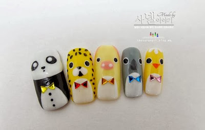 Korean Animal nail