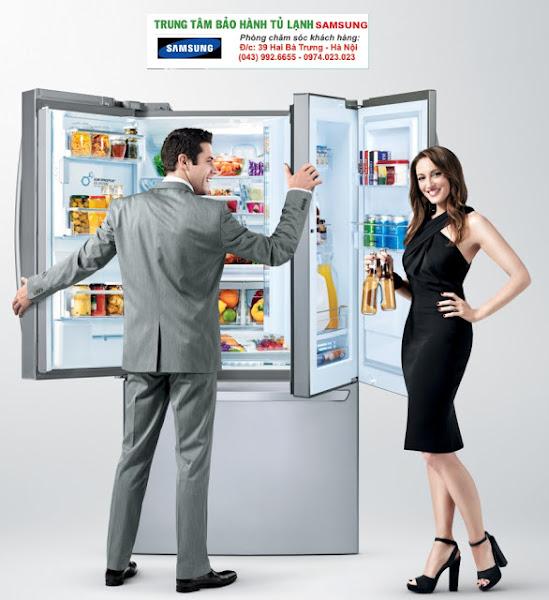 Sửa Tủ Lạnh Samsung đông đá ngăn mát tại Hà Nội /0967-747-055