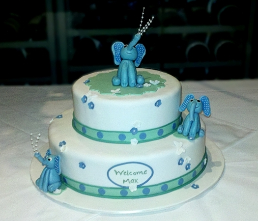 Confectionary Designs: Elephant Themed Baby Shower - NJ ...