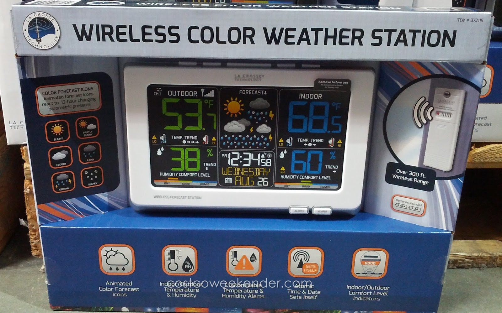 html weather station