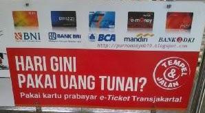 Penerapan e-ticketing Bus Transjakarta