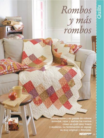 Patchwork en casa patchwork with love patchwork en casa 16 - Patchwork en casa patrones ...