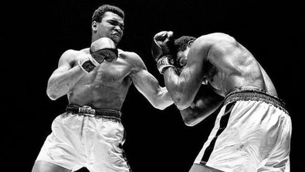 Muhammad Ali fights a brutal bout in The Trials of Muhammad Ali.