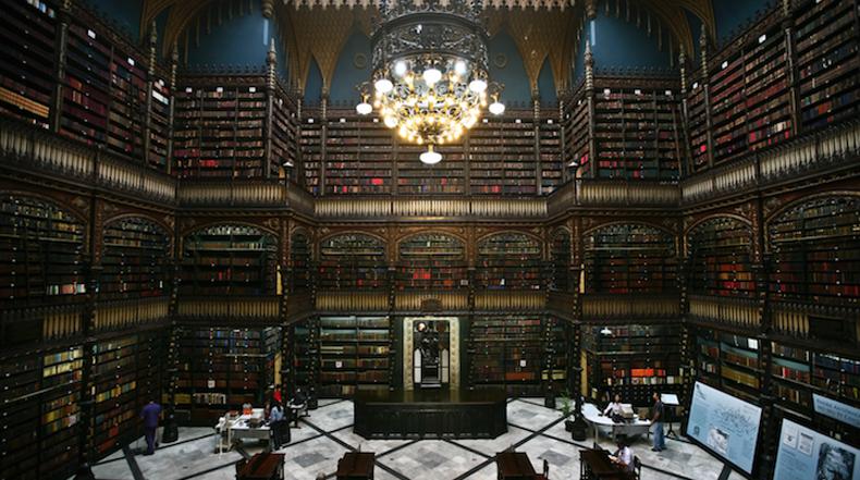 El Real Gabinete Português de Leitura