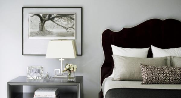 Little House Well Done: Black Headboard Inspiration