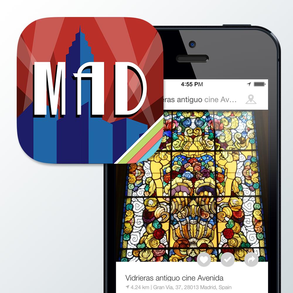 'Madrid Art Deco': La aplicación