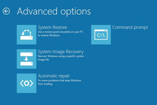 how to create recovery disk windows 8