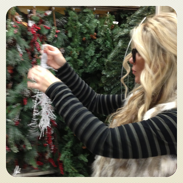 christmas decor shopping