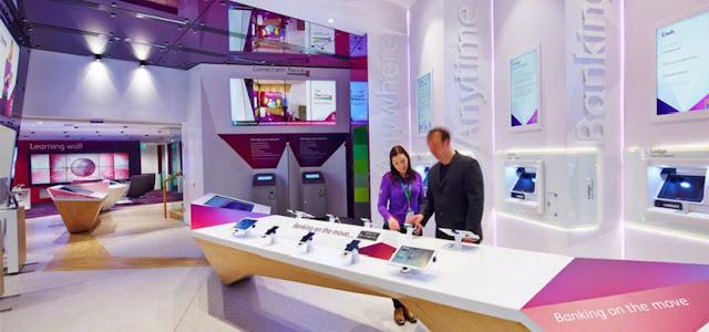 retail banca digital, interactividad, innovación digital signage, innovación banca