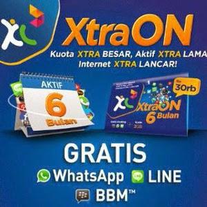 Jual INJECT PAKET XL XTRA ON 6 BULAN HARGA MURAH SE-INDONESIA RAYA