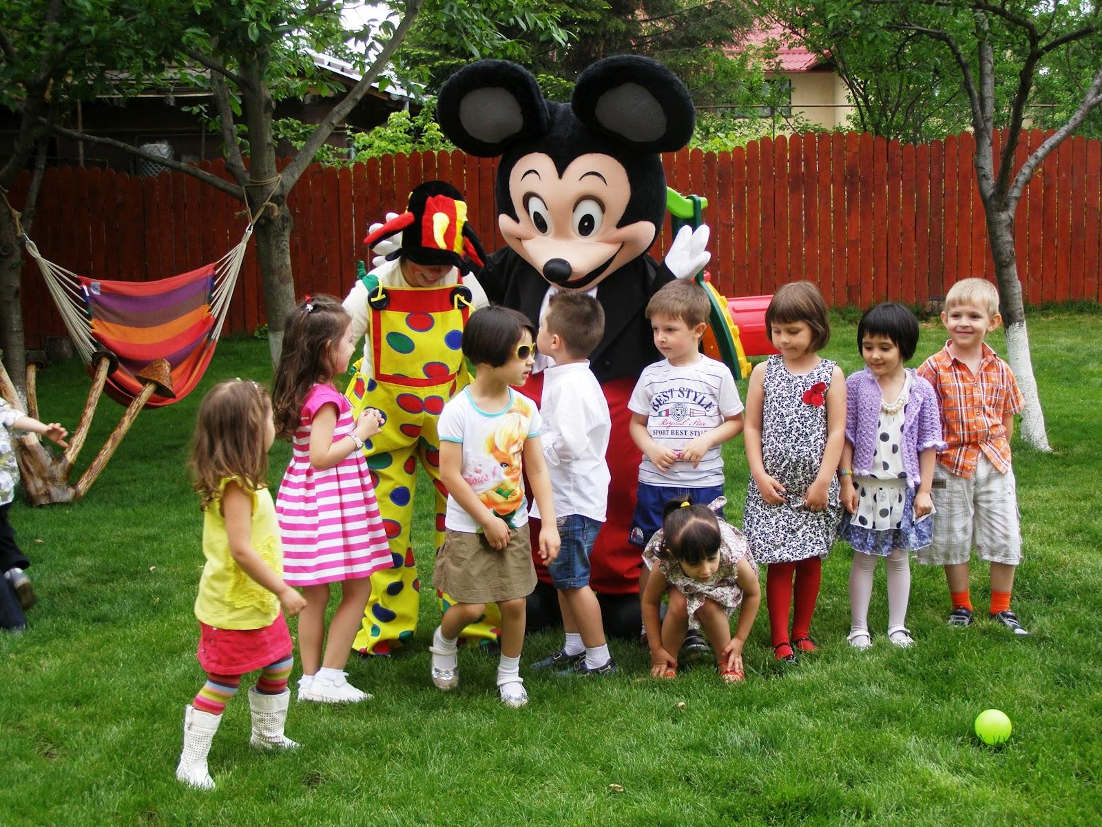 petreceri copii in aer liber