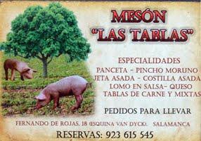 """""""LAS TABLAS"""""""