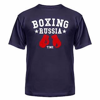 футболка Russian boxing team