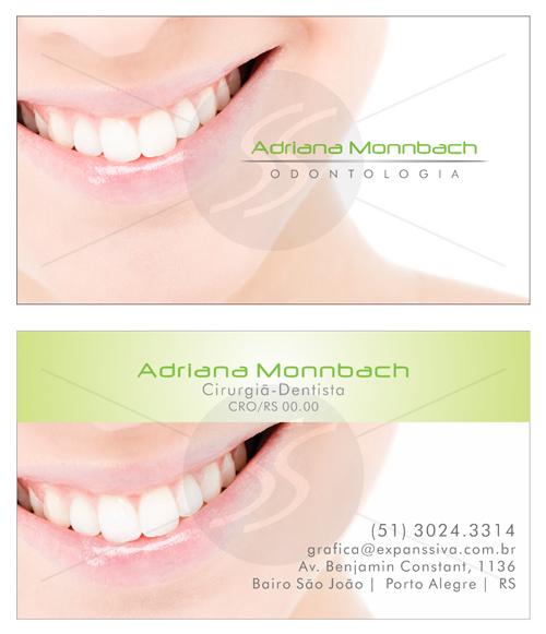 Cartões de Visita Odontologia