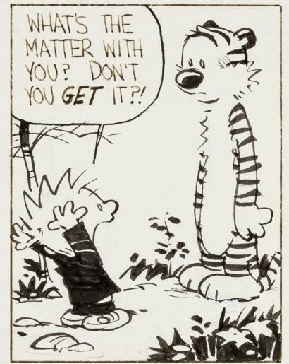 A Single Panel: Calvin and Hobbs