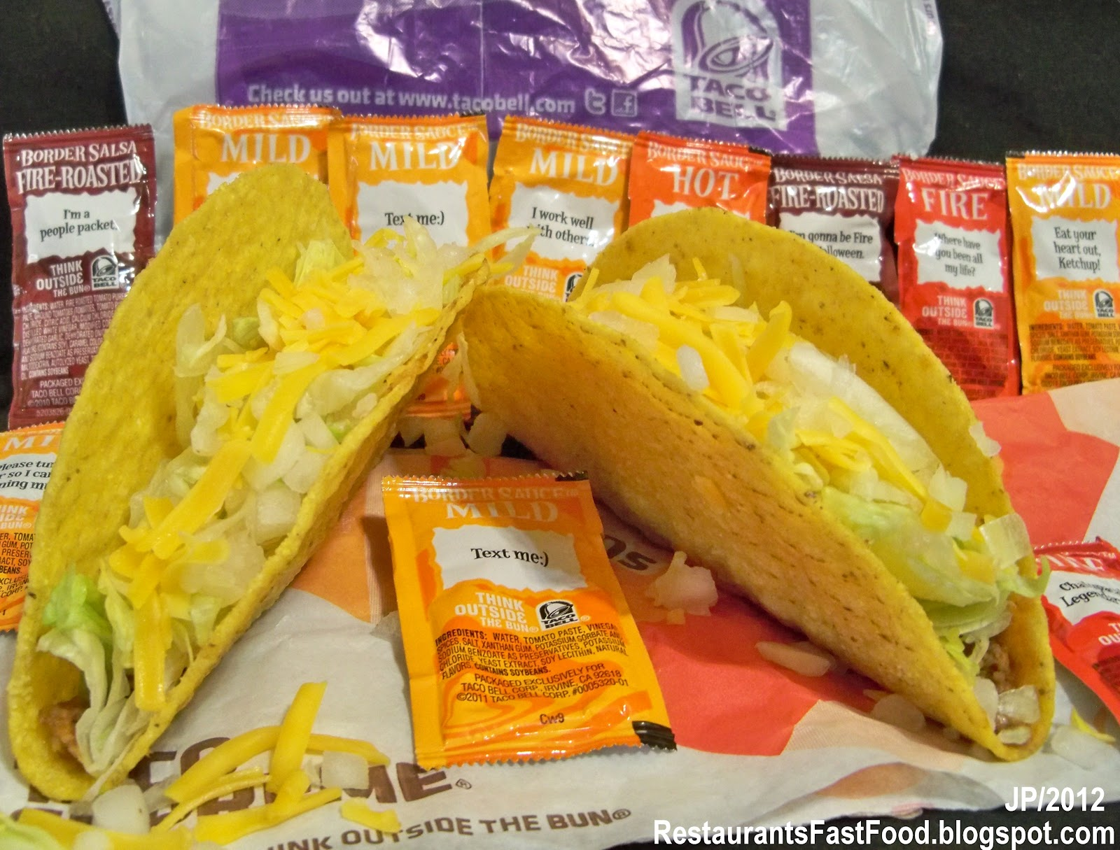 Taco Bell Chicken Taco Shell