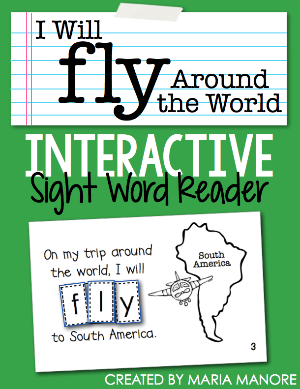 "emergent reader for sight word ""FLY"""