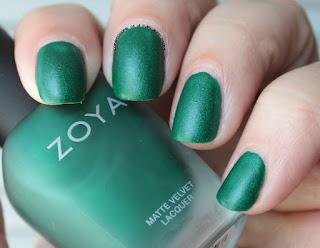 Zoya Matte Velvets for Winter 2015 - Honor