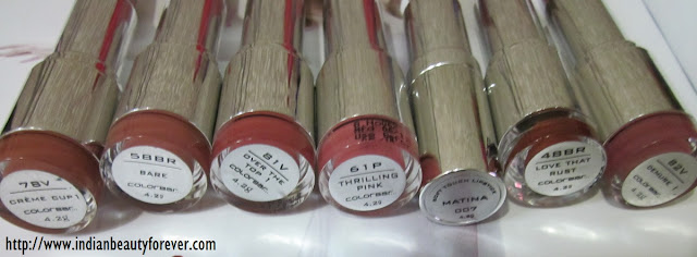 colorbar lipsticks