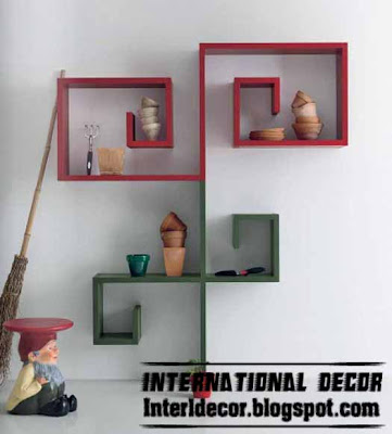 wall shelves Moderne Wand Regale Designs   Wandregale 2013