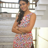 Manisha Yadav Photos in Floral Short Dress at Preminchali Movie Press Meet 41